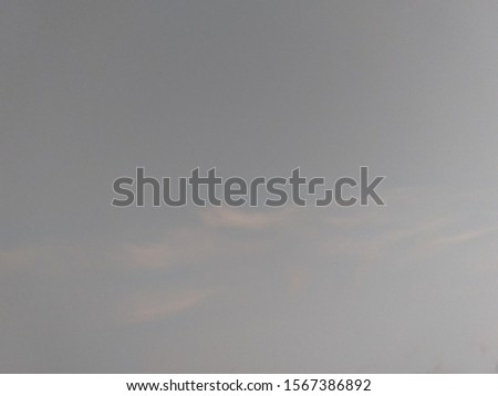 Clouds over the city of Batumi, Georgia