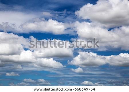 Clouds  sky #668649754