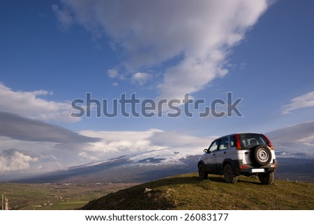 cloudscape for one vehicle off-road