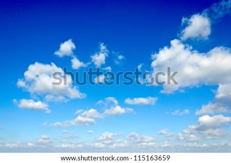 Cloudscape over Belgrade city