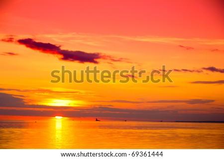 Cloudscape Twilight Sky #69361444