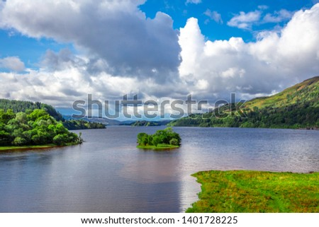 Cloudy Day at Loch Awe Scotland #1401728225
