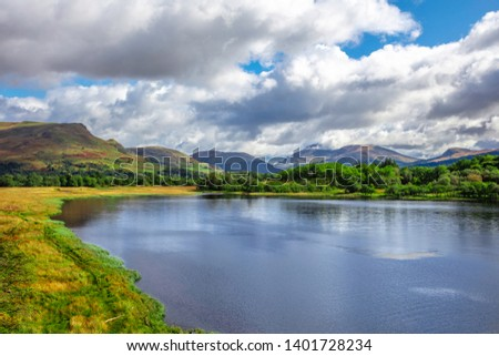 Cloudy Day at Loch Awe Scotland #1401728234