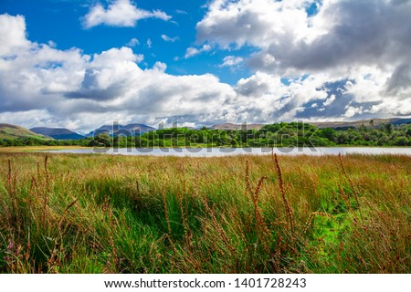Cloudy Day at Loch Awe Scotland #1401728243