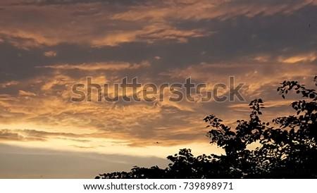 Cloudy Dusk #739898971