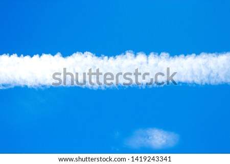 Cloudy in a blue background #1419243341
