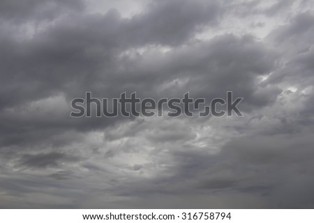 Cloudy sky #316758794