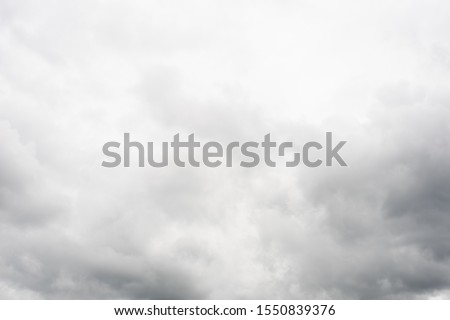 cloudy sky with heavy clouds in a bad weather Photo stock ©