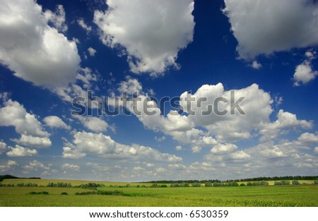 cloudy skyscape