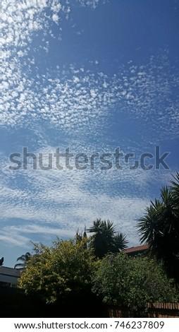Cloudy Sunny Sky #746237809