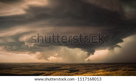 cloudy Tornado ans extreme weather.