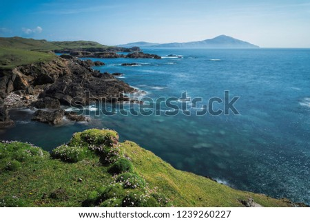 Cloughmore Bay Achill Island Wild Atlantic Way Mayo Ireland