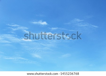 Clound with Blue Sky in Sunny Day