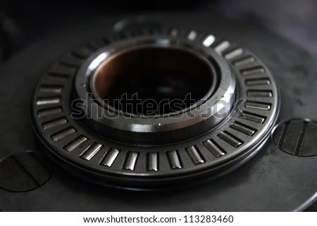 clouseup of washer bearing