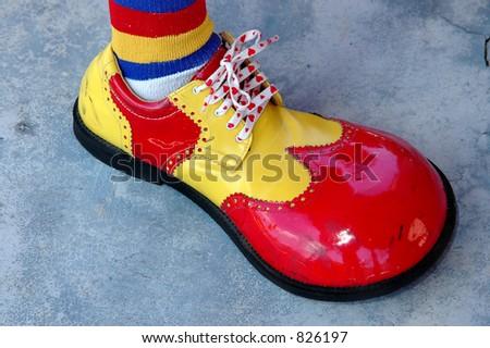 Clown's shoe