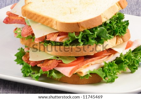 club sandwich this is the perfect all occasion meal easy to make fast healthy and delicious