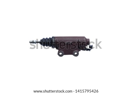 Clutch cylinder cylinder isolated on white background #1415795426