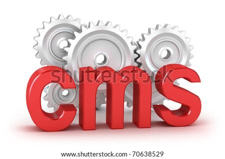 Cms : Content Management System Concept Stock Photo 70638529