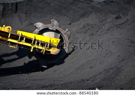 coal exploration and machine