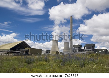 coal fired clean energy power plant