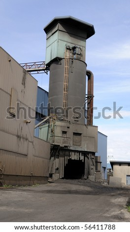 Coal-fired Power Plant - stock photo