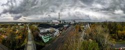 coal mine in Silesia, Poland