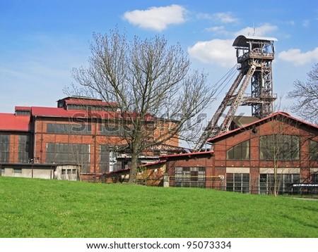 Coal mine Michal in Ostrava region in Czech Republic, nowadays a museum