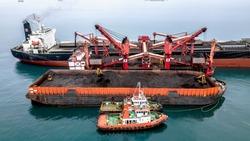 Coal Oil Transportation Tug Barge Tanker sea river Mother Vessel seatruck trucking
