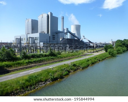 Coal power plant Hannover Germany