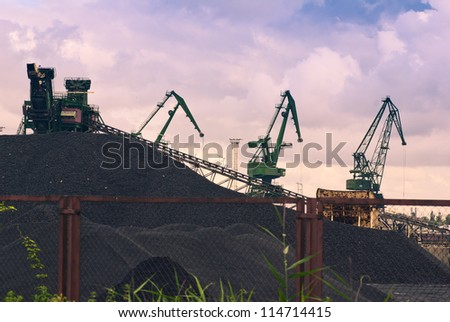 coal storage mining industry