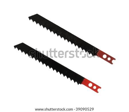 Coarse cut old sabre saw blades