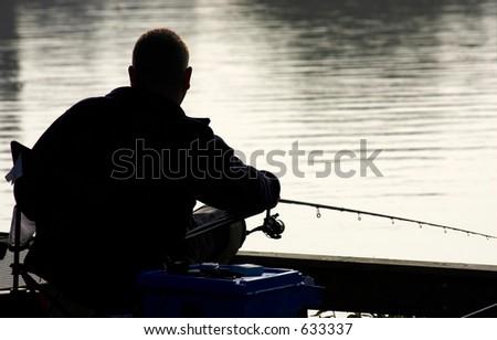 Coarse fisherman, Kingsbury water park, England, uk