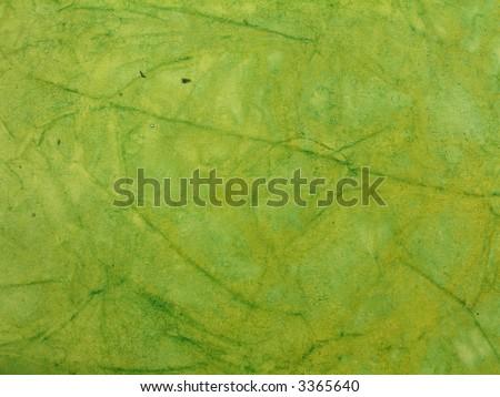 Coarse paper background: greenery