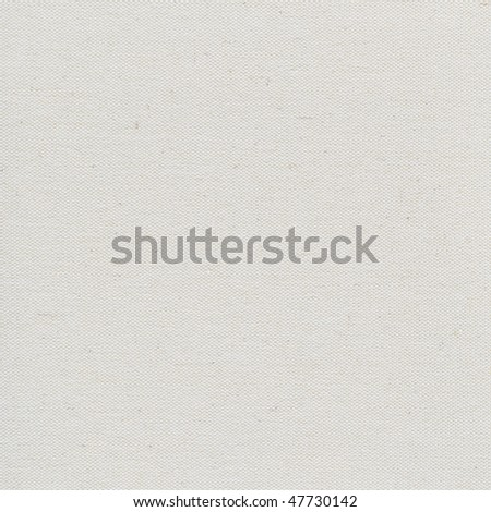 coarse texture of blank artist cotton canvas background (unfinished surface)