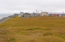Coast and Meadow View of Barrow, Alaska