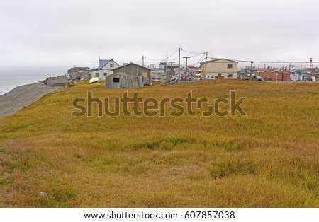 Coast and Meadow View of Barrow, Alaska