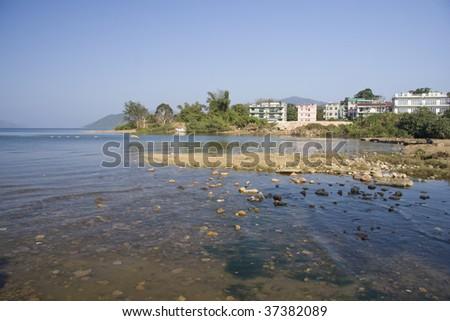 Coast at Sai Kung, Hong Kong - stock photo