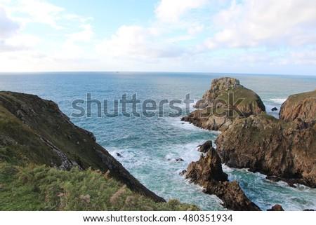 Coast in Cleden Cap Sizun #480351934