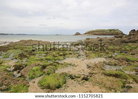 Coast, Landscape Saint Malo, France