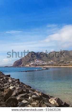 Coast line of San Andres, Tenerife