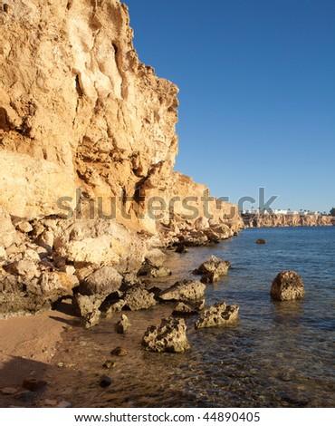 Coast of Red sea in Sharm al-Sheikh, Egypt