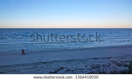 Coast of the Baltic Sea. North Sea.