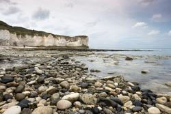 Coastal cliffs and landscape