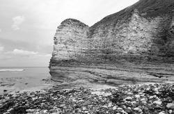Coastal cliffs and landscape example