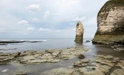 Coastal cliffs and landscape image