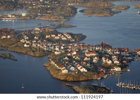 Coastal Community, Kladesholmen, Bohuslan, Sweden Stock Photo ...: shutterstock.com/pic-111924197/stock-photo-coastal-community...