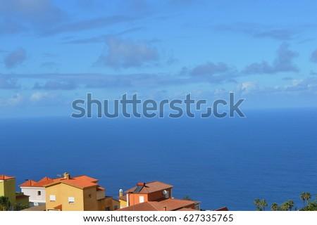 Coastal village Stock fotó ©