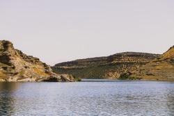 coastline and landscapes in the aegean sea
