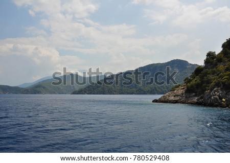 Coastline near Fethiye, Turkey #780529408