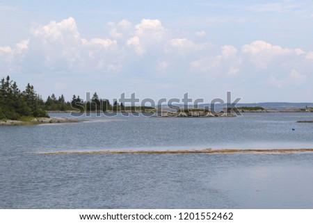 Coastline near Stonehurst West, Lunenburg County, Nova Scotia #1201552462